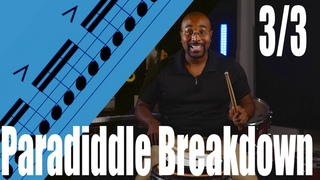 Paradiddle Breakdown 3/3