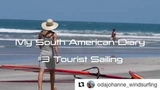 PWA on Instagram @odajohanne_windsurfing playing the not so average tourist... #Repost @odajohanne_windsurfing (@get_repost)