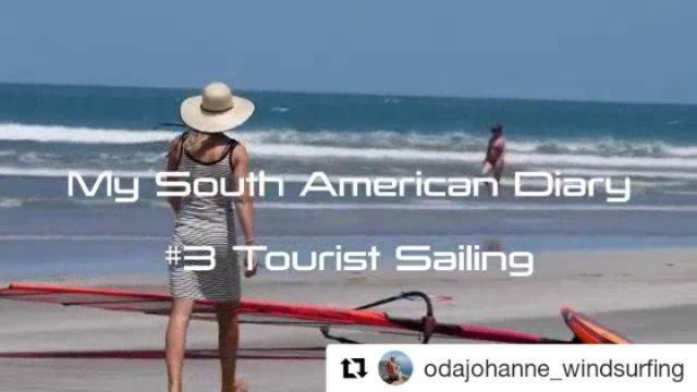 "PWA on Instagram: ""@odajohanne_windsurfing playing the not so average tourist... Repost @odajohanne_windsurfing (@get_repost) ・・・ Tourist Sailing ..."