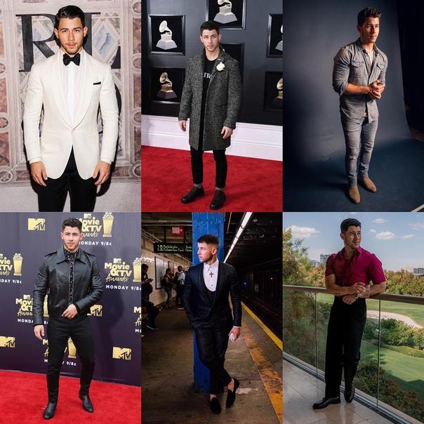 GQ назвал Ника Джонаса самым стильным мужчиной года