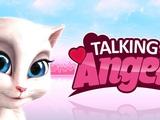 Моя говорящая Анджела #1 Говорящий Том и друзья. Мультик игра про милых котиков. #Тои чои KIDS