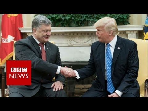 Trump lawyer paid by Ukraine to arrange White House talks - BBC News