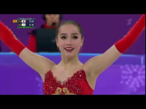Алина Загитова произвольная Олимпийские игры Корея 2018 чемпионка