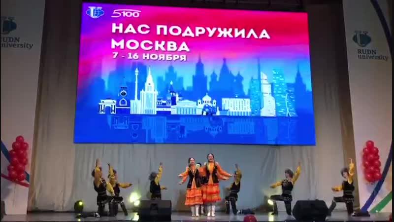 Ансамбль Алтын Ай на фестивале Нас подружила Москва