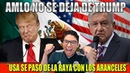 AMLO CONSIGUE DOMINAR A TRUMP ¡QUITAN LOS ARANCELES!