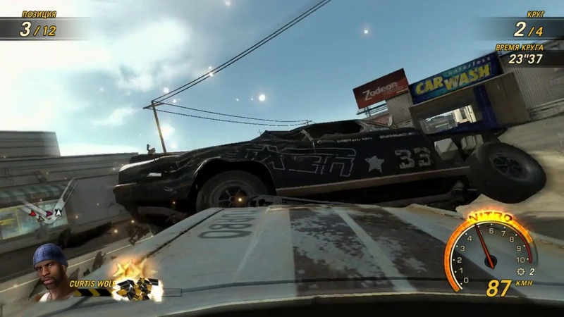 FlatOut Ultimate Carnage - Switchblade - Water Canal 2
