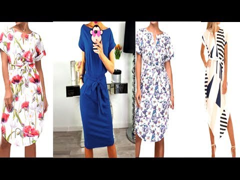 Stylish Outfit Ideas Summer Floral Dresses Lookbook 2018|CASUAL SUMMER OUTFITS| 2018 | Summer Women