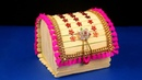 How to Make Jewellery Box at Home Popsicle stick crafts Diy craft Best out of waste