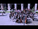 Huge symphonic choir flashmob - Budapest, Hungary - Bánk Bán's Aria, My homeland, my homeland