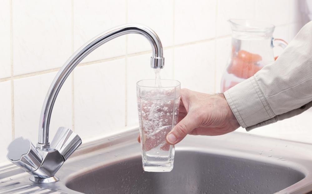 Раковины могут включать систему фильтрации, которая позволяет питьевой воде.
