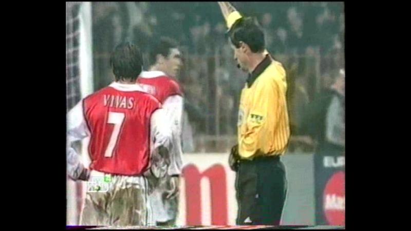 118 CL-1998/1999 Dinamo Kiev - Arsenal FC 3:1 (04.11.1998) HL