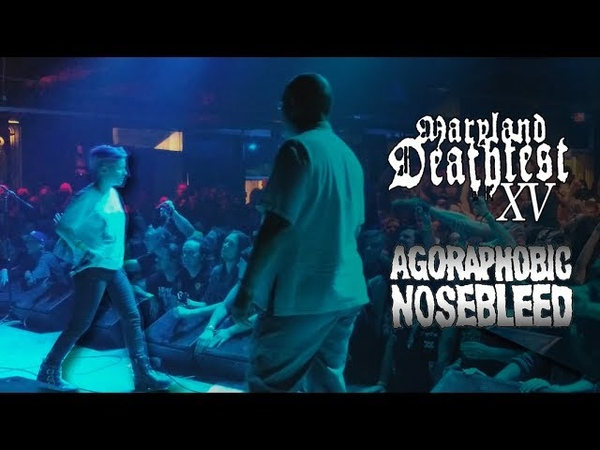 Agoraphobic Nosebleed @ Maryland Deathfest XV 2017, Baltimore, Soundstage