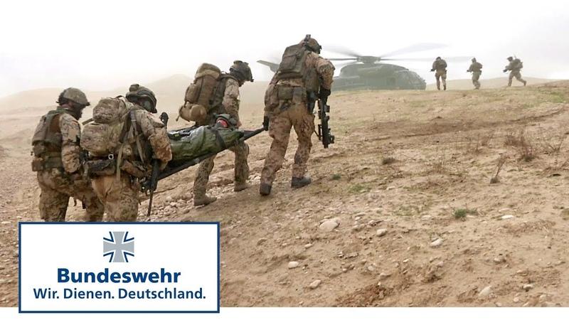 Das Personnel Recovery Team übt in Afghanistan - Bundeswehr