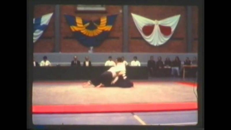 Tamura sensei (Aikido) 1975 Sweden