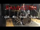 Rammstein Gib Mir Deine Augen Drum Cover