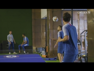 Barkley Pulls Off The Most Insane Nutmeg In Training 😱 - Chelsea Unseen