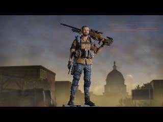 ФИГУРКА TOM CLANCY'S THE DIVISION®2 – БРАЙАН ДЖОНСОН премьерный видеоролик
