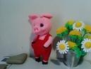 Чудесный поросенок ч 2 A wonderful pig р 2 Amigurumi Crochet Амигуруми Игрушки крючком