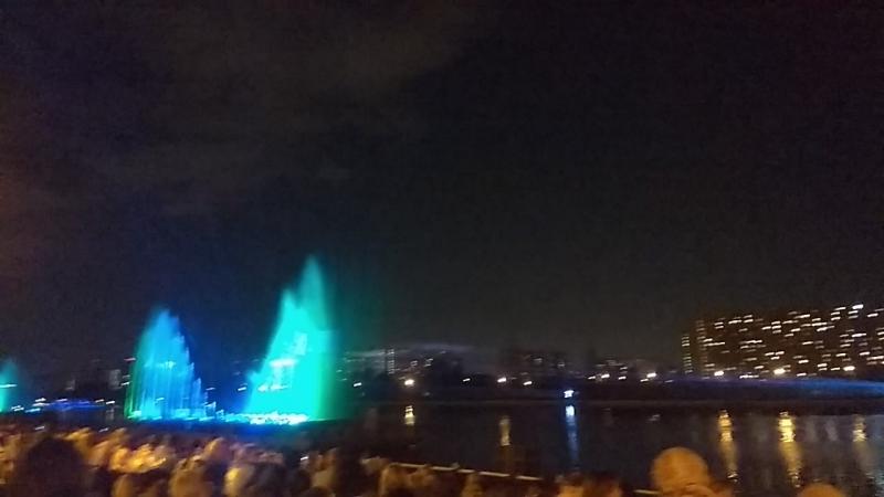 Шоу света и воды 19 08 2018
