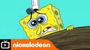 SpongeBob SquarePants | Afraid of Heights | Nickelodeon UK