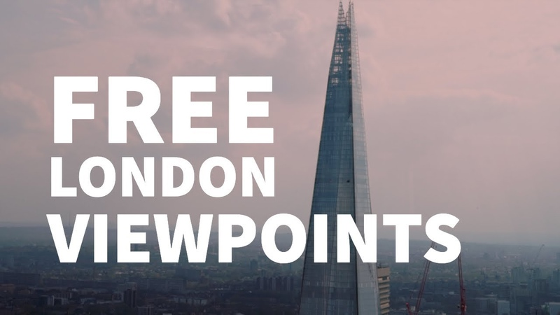 Top 5 London viewpoints for FREE