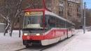 Трамвай Tatra-KT3R Кобра №30699 с маршрутом №26 Черёмушки - Метро Университет