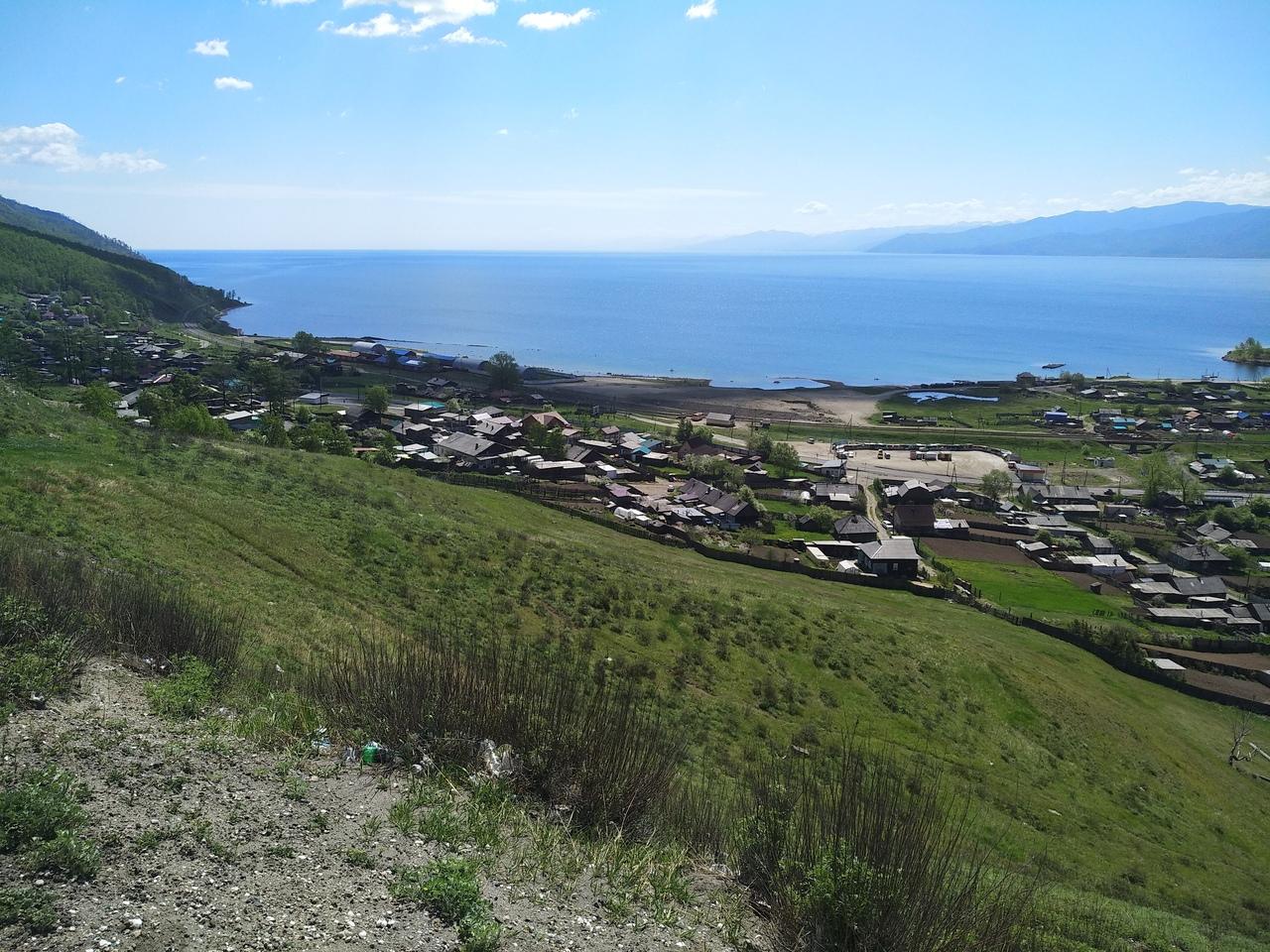 Вид на Байкал со стороны Култука
