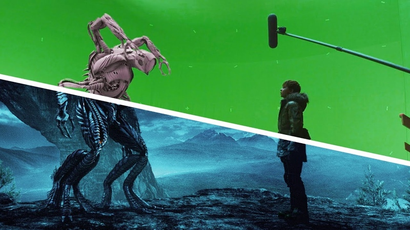 Amazing Before After Hollywood VFX Lost in Space