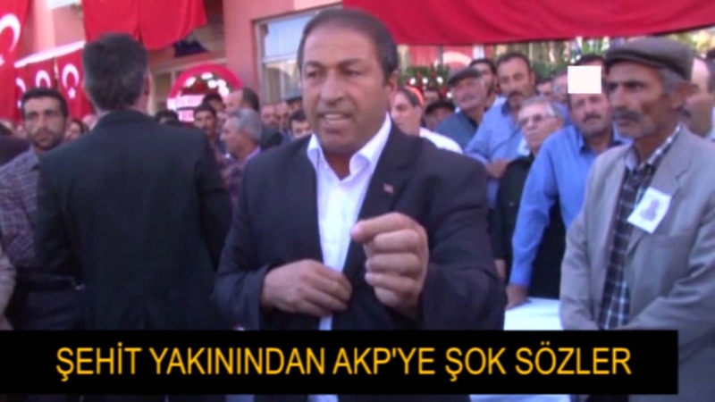 Şehit yakınları AKPye isyan etti