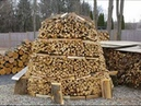 How to Build a Holz Hausen Wood House Beehive Woodpile Holzmiete Holz Haufen