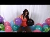 Looner popping balloon on Birthday (Nail Popping Stomp popping)