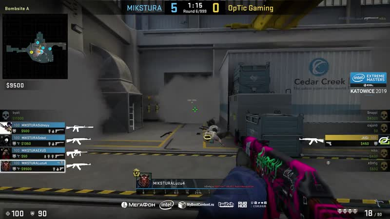Luz from MIKSTURA ace vs OPTIC Minor Qualification
