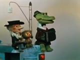 Детские песни Песенка Голубой вагон из мультфильма про Чебурашку и Крокодила Ген