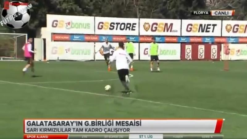 Galatasaray Sabah Antremanı Çift Kale Maç 5 NİSAN 2018