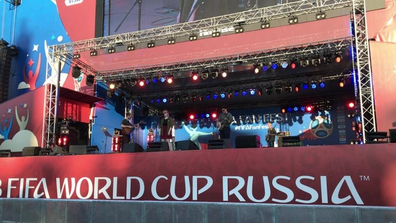 Хроники Края Весной 16 06 18 Фестиваль болельщиков FIFA Fan Fest 2018 Волгоград