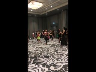 Radmila's balady workshop in Korea
