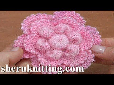 Crochet Simple Flower Tutorial 172