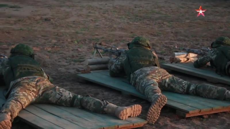 Учения спецназовцев России и Узбекистана