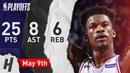 Jimmy Butler Full Game 6 Highlights 76ers vs Raptors 2019 NBA Playoffs - 25 Pts, 8 Ast, 6 Reb!