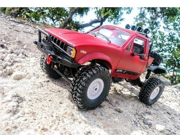 This Cheap RC Crawler Is a TON OF FUN! WPL 1/16 Mini Semi Truck Hercules