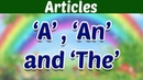 THE ARTICLES Learn Basic English Grammar Kids Educational Video