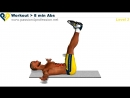 Lvl 2 - Abs workout how to have six