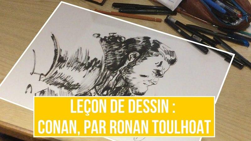 Leçon de dessin : Conan par Ronan Toulhoat concours