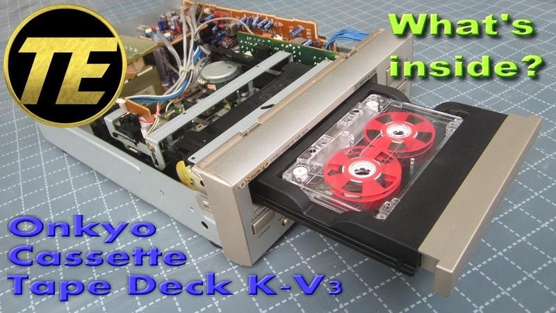 What's inside Onkyo Stereo Cassette Tape Deck K V3