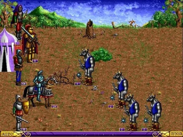 Взгляд в прошлое. Выпуск 11. Heroes of Might and Magic. Замок Ламанды (7(6))
