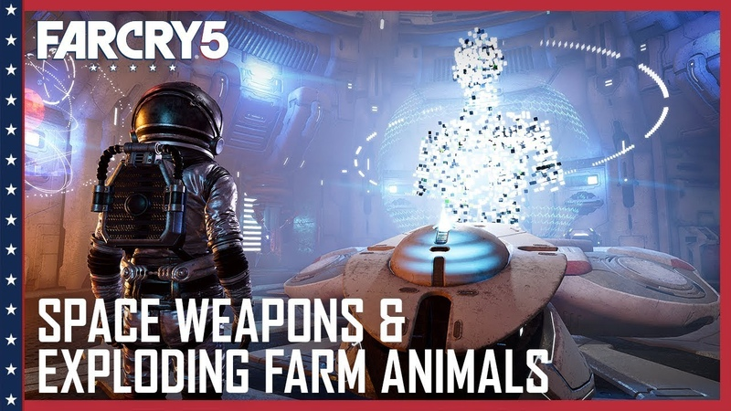 Far Cry 5: Space Weapons, Arachnids, and Exploding Farm Animals   Lost on Mars News   Ubisoft [NA]