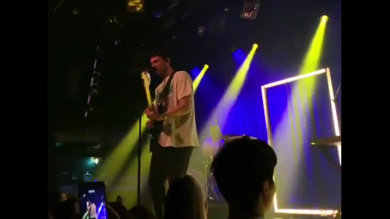 Jeremy performing firefly tonight at Amsterdam, holland.