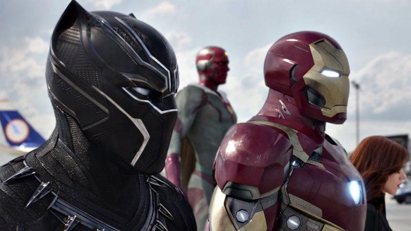 Битва в аэропорту Часть 2 Человек паук против Капитана Первый мститель Противостояние 2016