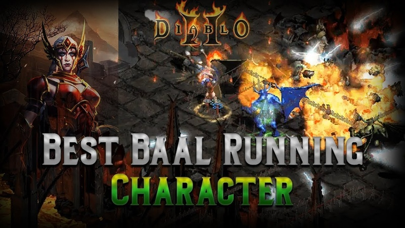 The Best Baal running character in the Game - The Javazon - Complete Guide Diablo 2
