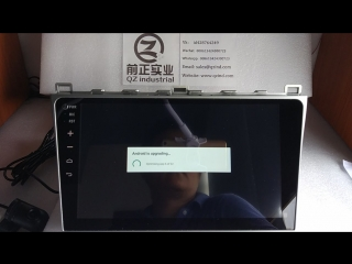 How to update the car Android operation system?